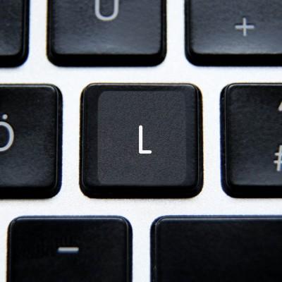 Anglické univerzální přelepky celých kláves (US)