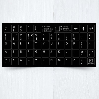 US UK keyboard
