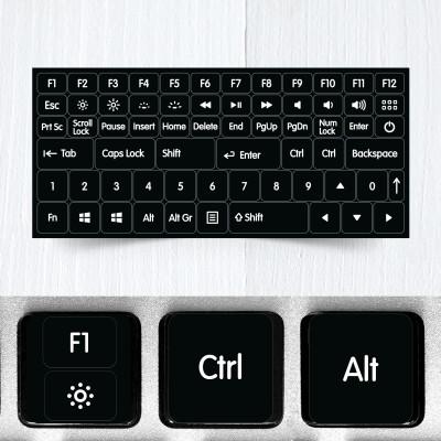 function modifier keys keyboard stickers new