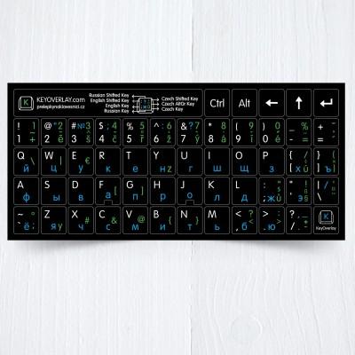 Czech Russian US keyboard