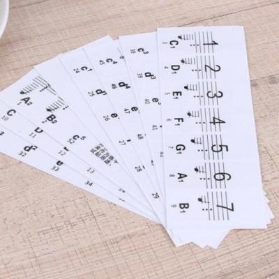 Samolepky na klávesy nebo klavír