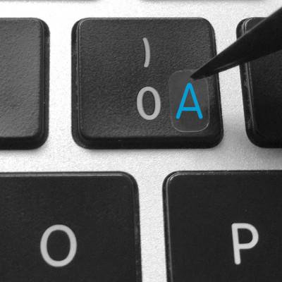 instal keyboard latin stickers