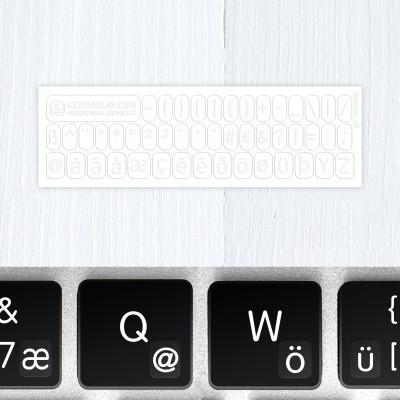 t german keyboard stickers white2